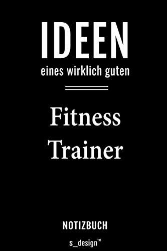 Notizbuch für Fitness Trainer: Originelle Geschenk-Idee [120 Seiten kariertes blanko Papier]