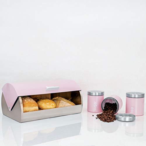 Brotkasten und 3 Kaffee-, Tee- und...