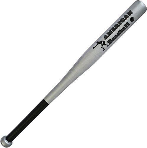 MFH Softballschläger American Baseball aus Holz (Silber/26 Zoll)
