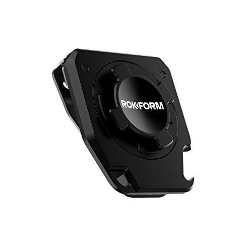 Rokform – Supporto universale per cintura e telefono, per iPhone e Samsung, compatibile con tutte le custodie Rokform Twist Lock (nero)