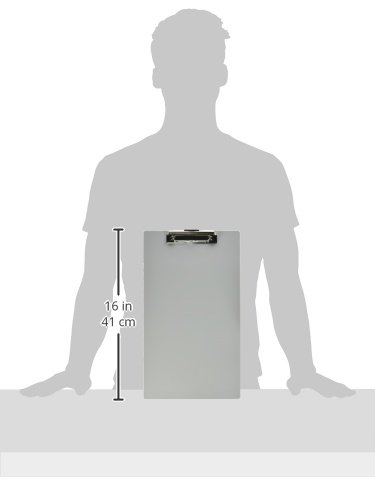 Officemate OIC Aluminum Clipboard, Legal Size, Silver (83212) Photo #3