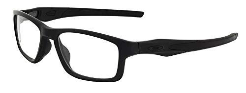 Oakley Crosslink 0.75mm Pb Leaded X-Ray Safety Radiation Protection Glasses (Satin Black)   AR Anti-Reflective No Fog Lens
