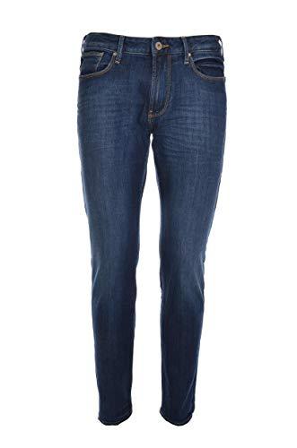 Armani Jeans Denim ?J06, 5 Taschen, Dunkle Wäsche, geregeltes Leben Mann, Slim
