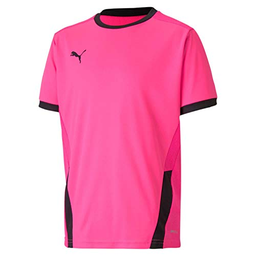Puma Kinder teamGOAL 23 Jersey jr Trikot, Fluo Pink Black, 128