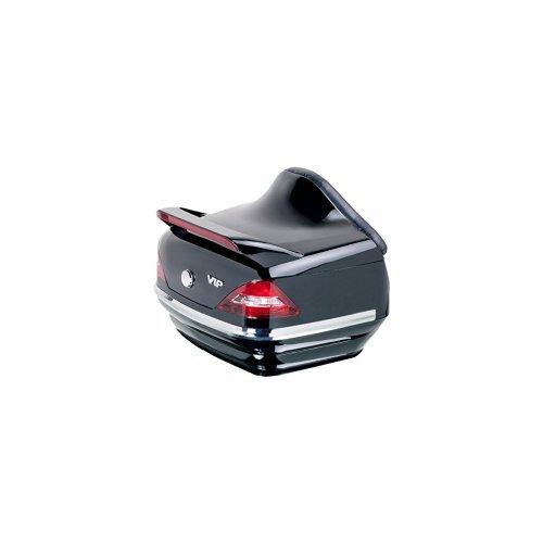 Customaccess MT0005N Maleta Trasera Rígida Modelo Mercedes con Parrilla Desmontable SS0028J para Yamaha XV950/R (VN03) 13\'-15\'