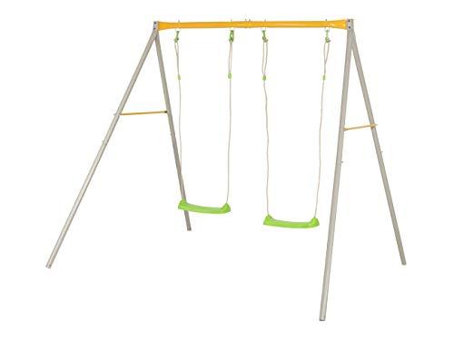 Trigano Kinderschaukel Gartenschaukel Schaukelgestell Doppelschaukel Schaukel