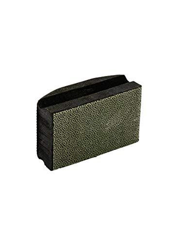 Diamant-Handpad K100 schwarz Profi Diamant-Handschleifpad Schleifschwamm Körnung 100 zum schleifen, entgraten und polieren von Fliesenkanten