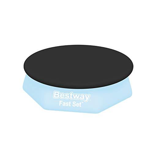 Flowclear PVC-Abdeckplane Ø 280 cm, für runde Fast Set Pools mit Ø 244 cm, schwarz