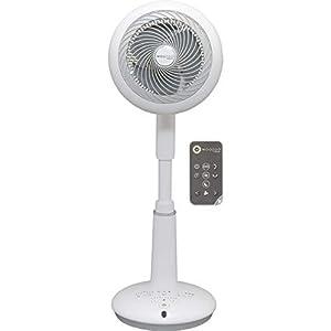 Iris Ohyama 530444, Ventilador de pie Potente y Ultra Silencioso | 3D oscilating y Control Remoto