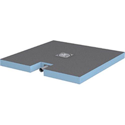 Duschtasse Plano mit integriertem Ablaufgarnitur 1000x 1000x 65OEM. 07–37–35/601