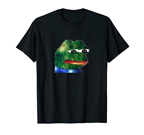 FeelsBadMan Space Pepe Emote Meme T-Shirt