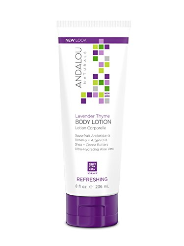 Andalou Naturals Lavender Thyme Refreshing Body Lotion, 8 Ounce