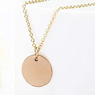 Rose Gold Choker Necklace for Women