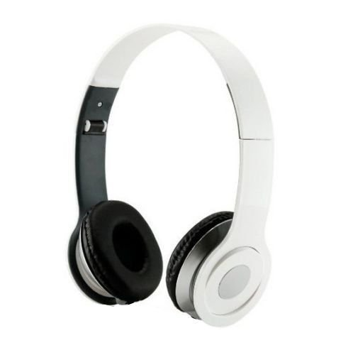 Roberts Fojjers Special Foldable Over The Head Stereo Dj Headphone 3.5 Mm for Pc Tablet Music Video & All Other Music Players. (White Angle)