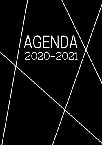 Agenda Scolaire en Français: Format A5 Agenda Journalier Quotidien Noir   Fille Garçon College Lycee Etudiant Primaire Enseignant