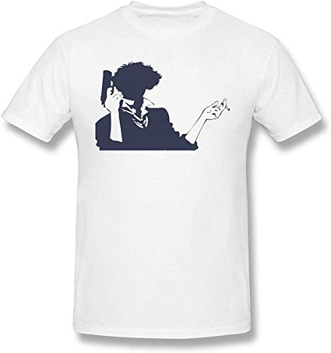 Whgdeftysd heren Print Cowboy Bebop T-shirt met korte mouwen Shirts