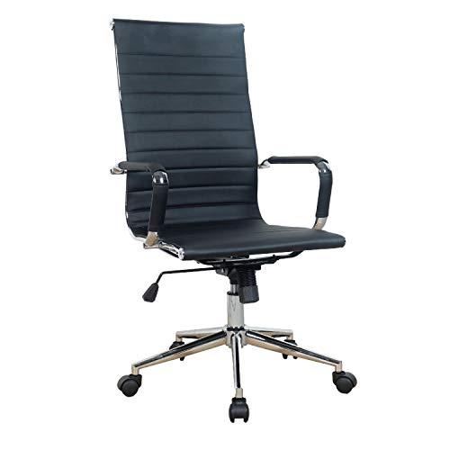 Cadeira de Escritório Presidente Esteirinha Ergonômica e Giratória