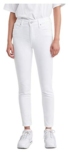 Levi's Women's 721 High Rise Skinny Jeans,  Soft Clean White,  34 (US 18)