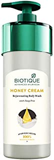 Biotique Honey Cream Rejuvenating Body Wash, 800ml