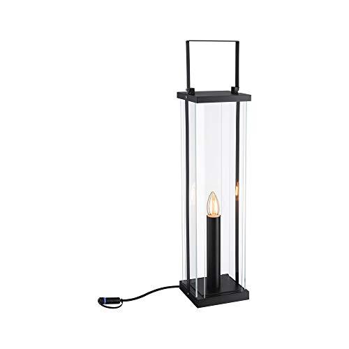 Paulmann 94317 Plug & Shine LED Außenleuchte Outdoor Classic Lantern 56cm 24V IP44 E14 Anthrazit Außenleuchten Aussenleuchten Gartenbeleuchtung 1900K