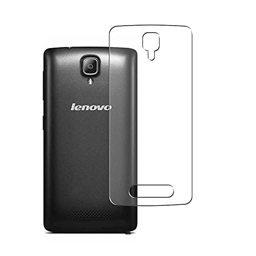 Vaxson 2 Stück Rückseite Schutzfolie, kompatibel mit Lenovo A1000, Backcover Skin TPU Folie Haut [nicht Panzerglas Bildschirmschutzfolie Hülle Hülle ]