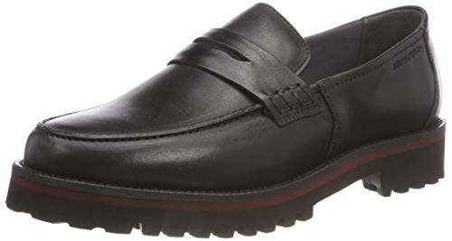 Marc O'Polo Damen Loafer Mokassin, Schwarz (Black 990), 38 EU