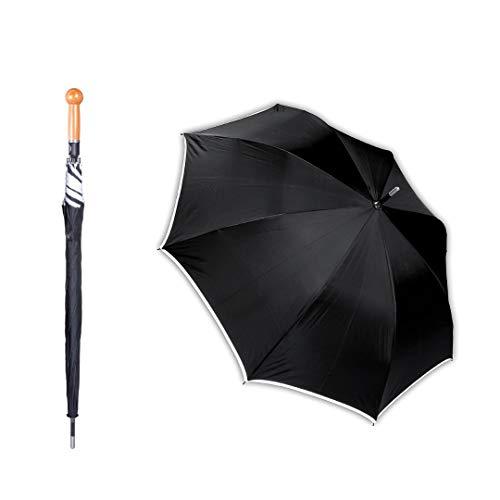 Veiligheidsscherm | onbreekbare paraplu voor eigen bescherming | XXL extra lang met 103 cm | voor vrouwen, mannen en senioren | verbetert je verdedigingsvermogen zonder lange training