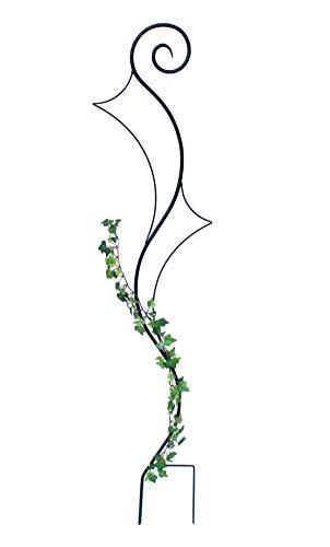 DENK Rankhilfe Metall Bodenstecker Riva Rankgitter Höhe 148 cm Breite 30 cm Kletterhilfe Klettergerüst Volleisen