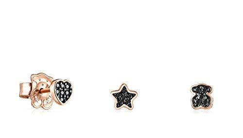 clasificación y comparación Pendientes de oro rosa con motivo de barmel Set Spinel (914933540) para casa