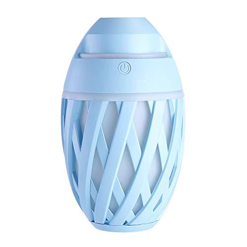 YL-WLJ Humidificador Facial Colorido Luz Nocturna Escritorio de Oficina Humidificador USB Hogar Humidificador pequeño,Azul