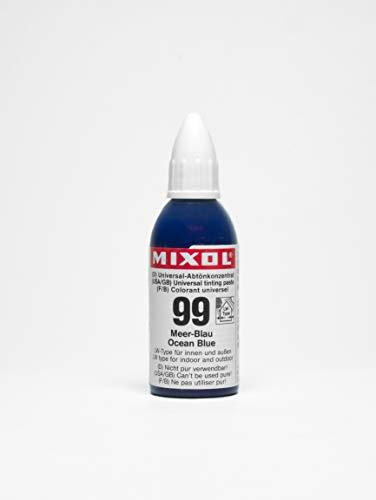 Mixol Universal Tints, Ocean Blue, 99, 20 ml
