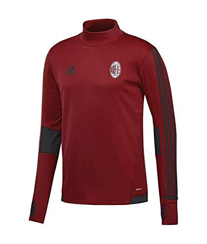 adidas ACM TRG Top Camiseta-Línea AC Milan, Hombre, Rojo (rojvic/Negro), M