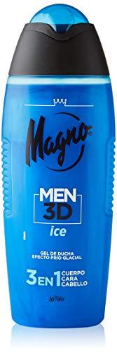 Magno Men 3D - Gel Ice 3en1- Cuerpo, Cara y Cabello - 400ml
