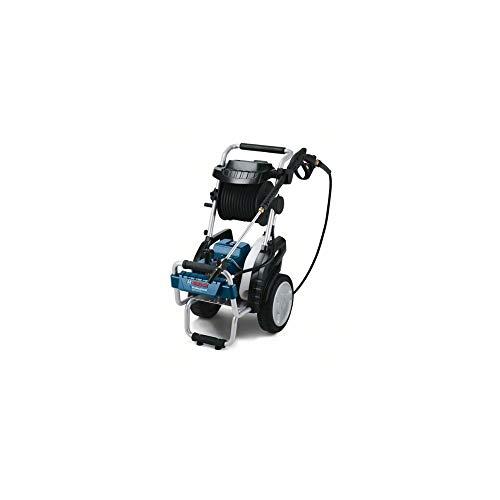 Bosch Professional GHP 8-15 XD - Hidrolimpiadora de alta presión (160 bares, 800 l/h, enrollador manguera, 1 lanza)