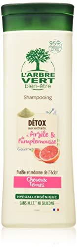 L'arbre vert Shampooing Détox pour Cheveux Ternes 250 ml