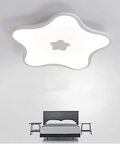 BaiXing Modernes Nordeuropa Kreativität einzigartiges Design Kronleuchter Wohnzimmer Hotel Büros Schlafzimmer Penta Raster- Licht geführt Eisen Acryl 45cm