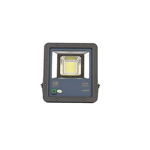Projecteur LED,Lumières De Sécurité Haute Puissance Murale Murale Jardin Lumière Extérieure Étanche Projecteur Super Lumineux Travail Projecteur (Couleur : Lumière blanche chaude-50W)