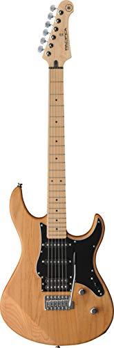Yamaha Pacifica 112VMX E-Gitarre Natur Satin – Hochwertige E-Gitarre für Einsteiger in elegantem Design – Vielseitiger Klang durch eine durchdachte Tonabnehmerbestückung
