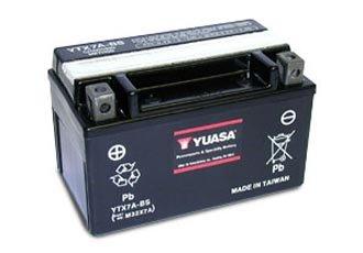 YUASA accu (YTX7A-BS) KYMCO PEOPLE 150 2007