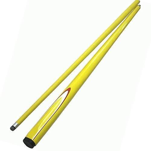 AKAMAS Palo de New Carbon Billar Pool Cue en 9,5 mm de Color Amarillo Medio de división de Billar Cue Palos de Carbono Mayoristas Baibao