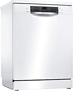 Bosch Serie 4 SMS46JW08E lavavajilla Independiente 13 cubiertos A++ - Lavavajillas (Independiente, Blanco, Tamaño completo (60 cm), Blanco, Botones, 1,75 m)