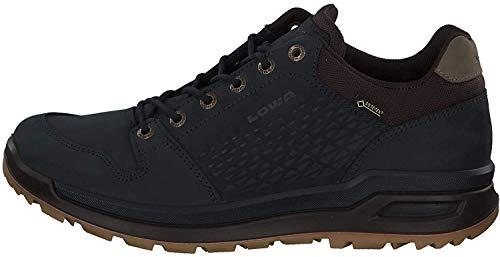 Lowa M Locarno GTX LO Blau, Herren Gore-Tex Hiking- und Approachschuh, Größe EU 45 - Farbe Navy