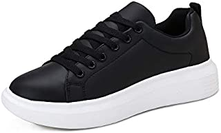 Huahuahuipin Women's Lace Up Fashion Sneaker Womens Black...