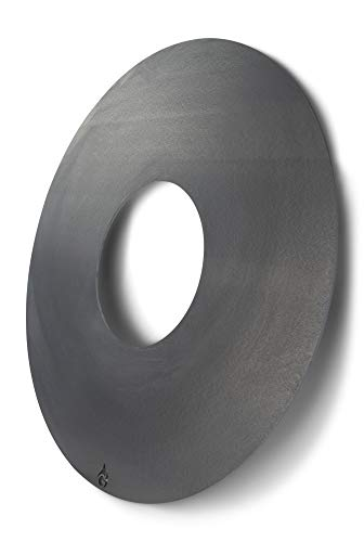 Grillrost.com Das Original Feuerplatte 80 & 100cm und Zubehör für Feuertonnen und Kugelgrills, Größe:Feuerplatte für 60er Kugelgrill