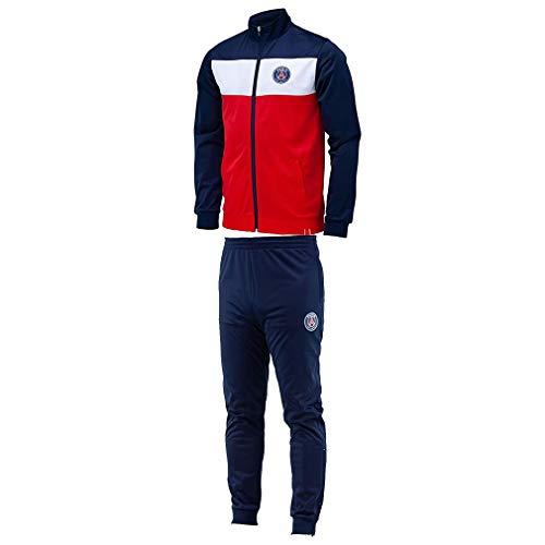 PSG - Official Paris Saint-Germain Kids Soccer Tracksuit - Blue, White (10 Years)
