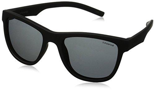 Polaroid , PLD8018S- Gafas de sol para niño, Negro, 47/17/124