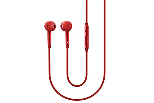 Samsung EO-EG920BREGWW Ecouteurs intra-auriculaires pour Samsung Galaxy S6 3,5 mm Rouge