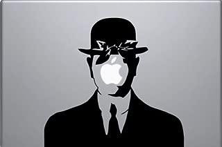 Laptop Vinyl Sticker Rene Magritte Son of Man Sticker MacBook Decal Art Apple