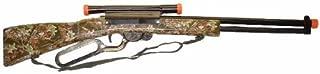 Camouflage Big Game Rifle, Wood Stock , Shoots Plastic Balls, Bulk