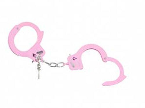 Orlob 46123 Handschellen pink rosa Polizistin Politesse Accessoire